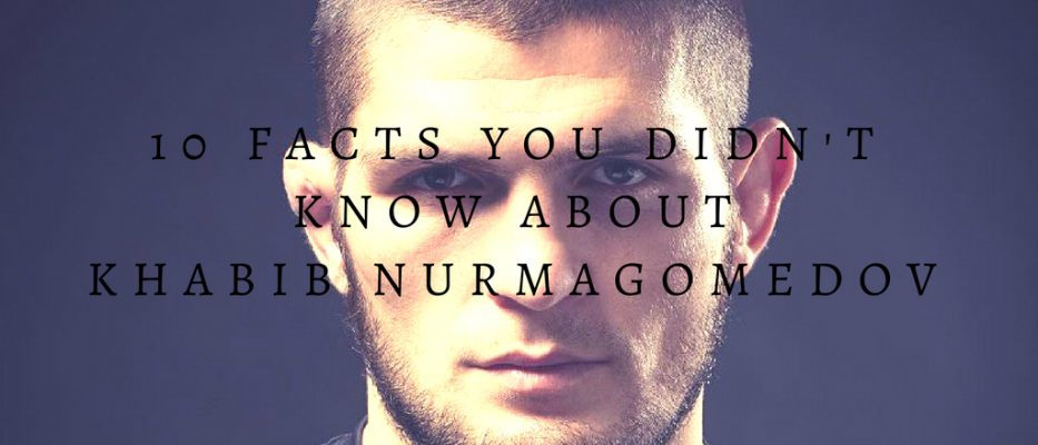 Interesting facts about Khabib Nurmagomedov