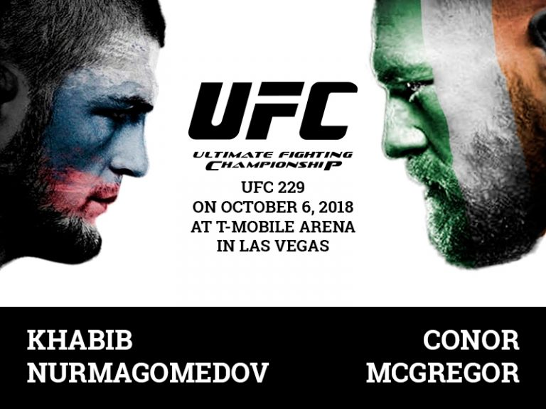 Khabib vs Mcgregor fight on October 6 in Las Vegas