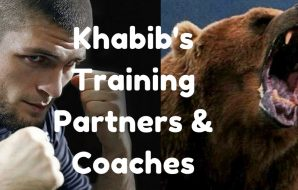 Khabib Nurmagomedov's training partners and coaches