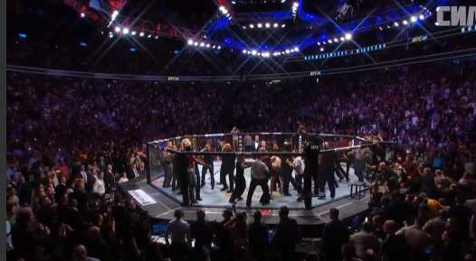 Khabib and his teammates attacked Conor McGregor after the fight