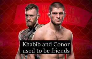 Khabib Nurmagomedov and Conor McGregor were friends back in 2014