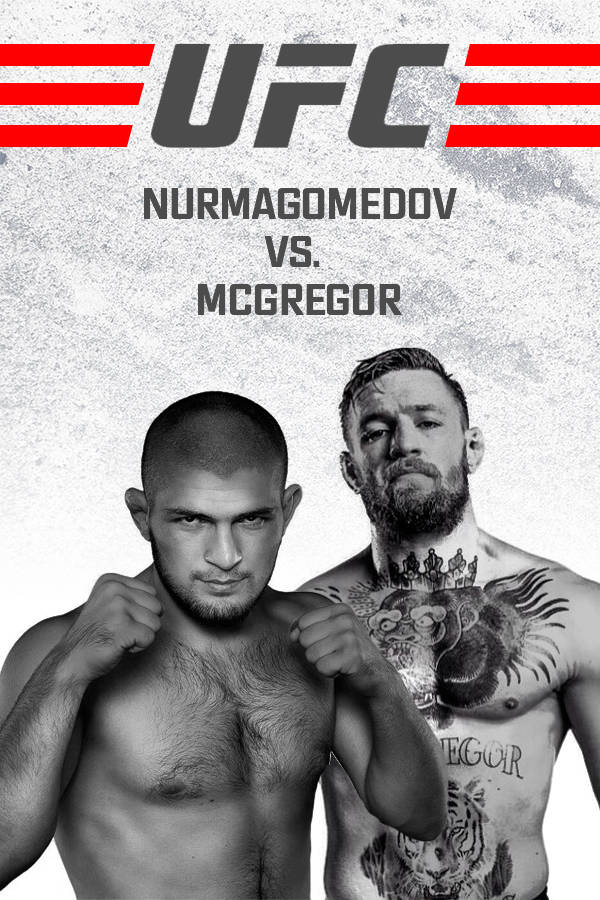 Fight between Khabib Nurmagomedov and Conor McGregor