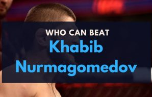 Who can beat Khabib Nurmagomedov in the UFC