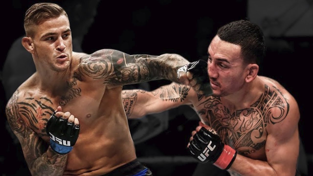 Max Holloway lost to Dustin Poirier for the Lightweight interim belt