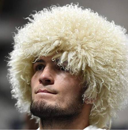 Papakha hat like Khabib Nurmagomedov's sold on Amazon