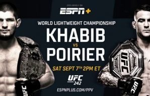 Khabib vs Poirier PPV on ESPN+