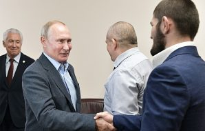 Vladimir Putin congratulated Khabib for his win at UFC 242 against Dustin Poirier