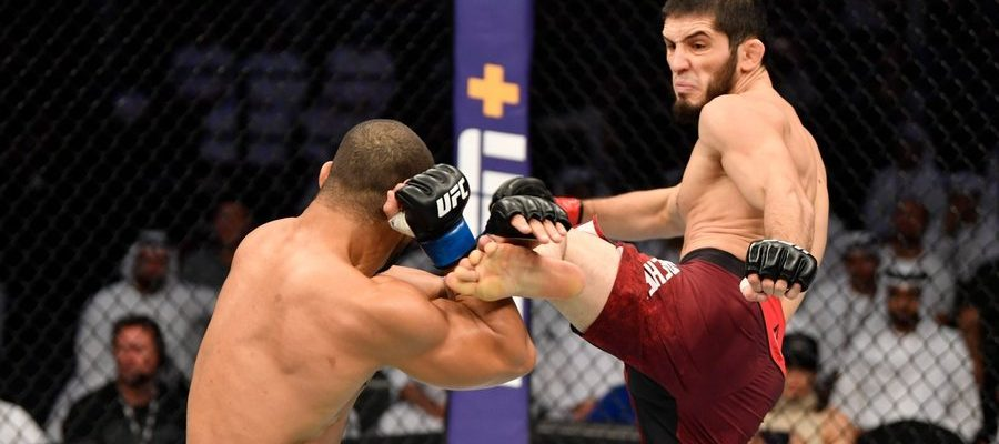 Islam Makhachev vs Davi Ramos at UFC 242