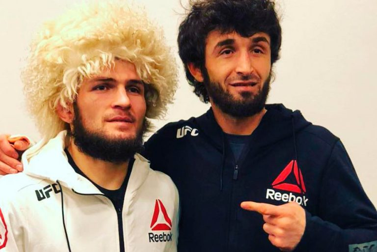 Khabib and Zabit are very respectful to each other