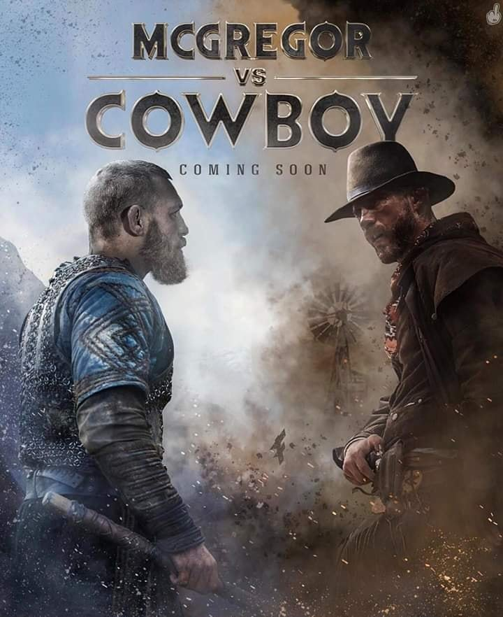 Poster for McGregor vs Cerrone fight