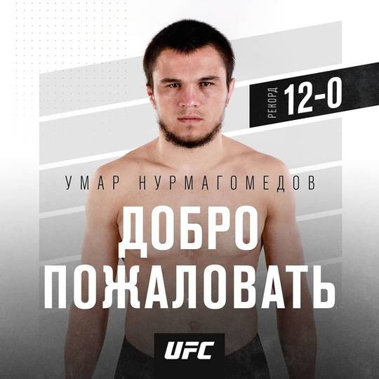 Umar Nurmagomedov signed with the UFC and will make debut at UFC 249