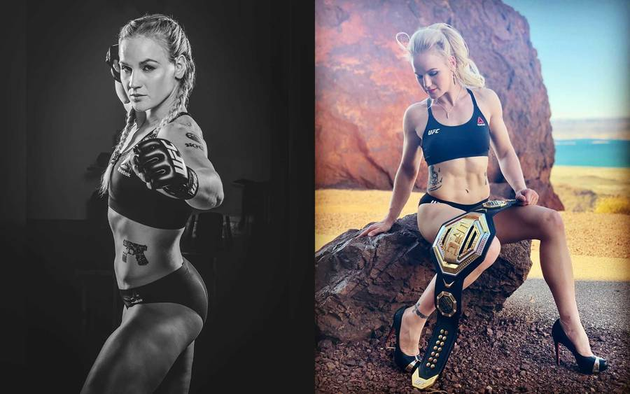 Valentina Shevchenko - beautiful MMA female fighter