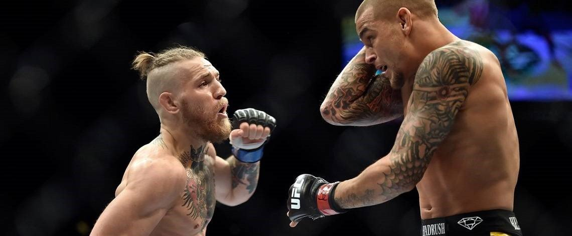 Dustin Poirier vs Conor McGregor fight