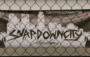 Tony Ferguson trains at Snapdown City Academy in California