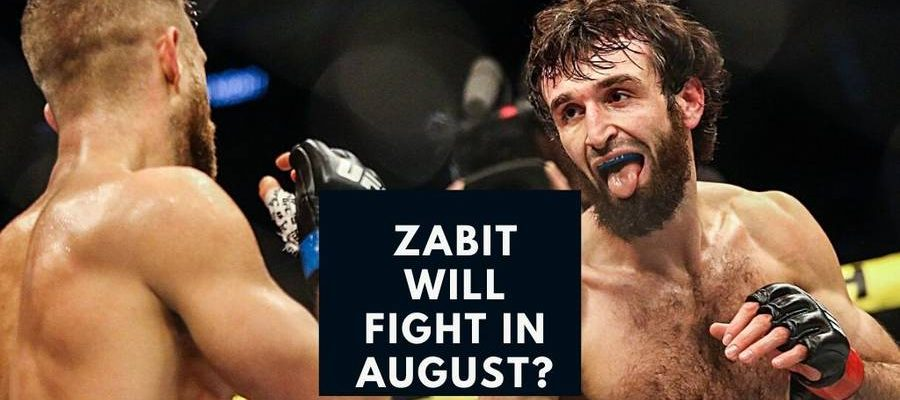Zabit hinted next fight in August
