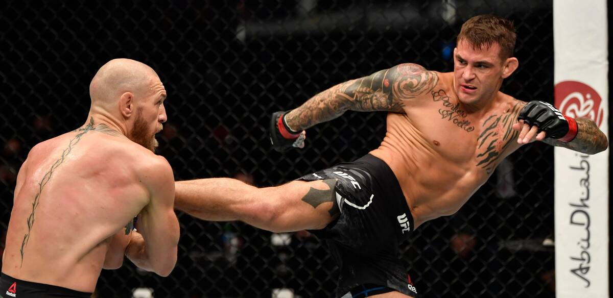 Poirier beat McGregor with calf kicks at UFC 257