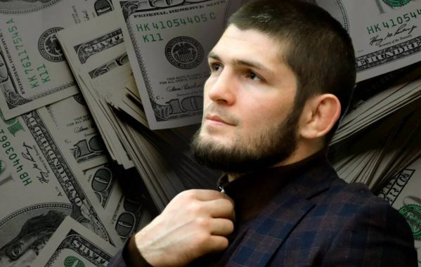 Khabib's earnings in all UFC fights