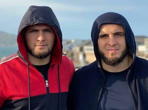 Is Makhachev related to Khabib